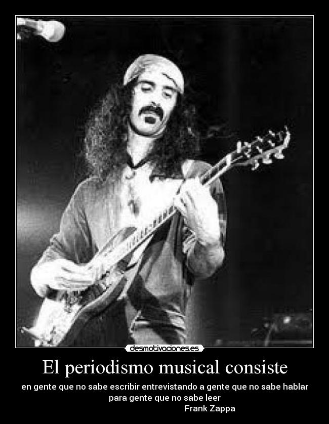 the life and career of frank zappa an american musician bandleader composer songwriter and guitarist (1940-1993) composer, guitarist, singer, and bandleader frank zappa was a singular musical figure during a performing and recording career that lasted as if his music were not challenging enough, he overlay it with highly satirical and sometimes abstractly humorous lyrics and song titles that marked.