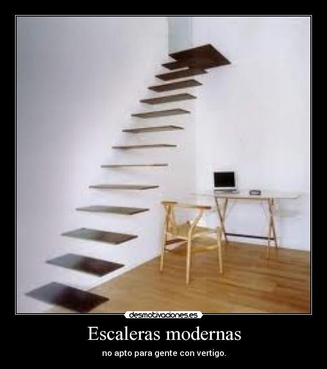 Escaleras modernas desmotivaciones for Imagenes escaleras modernas