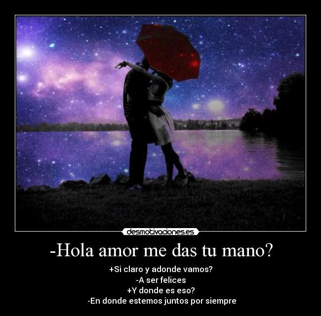hola de amor: