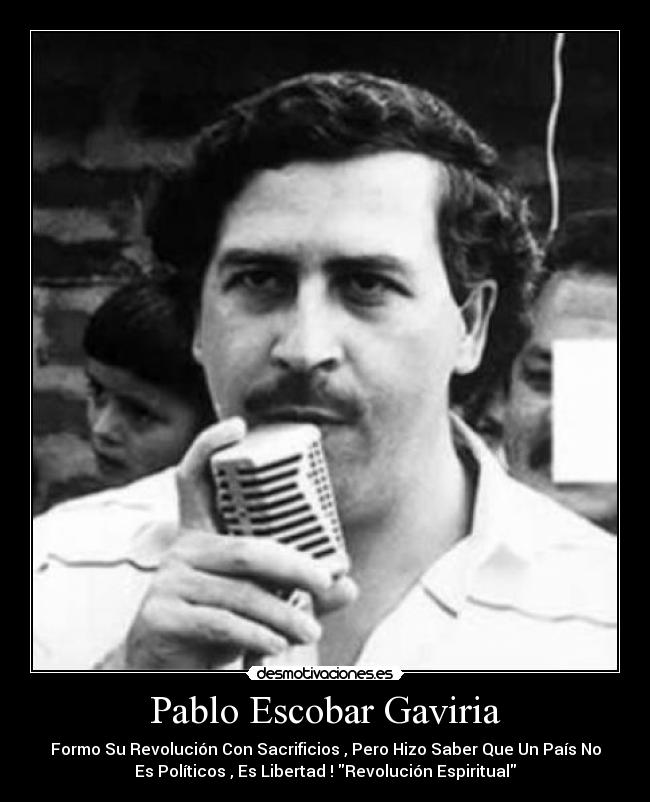 42 frases de PABLO ESCOBAR - YouTube