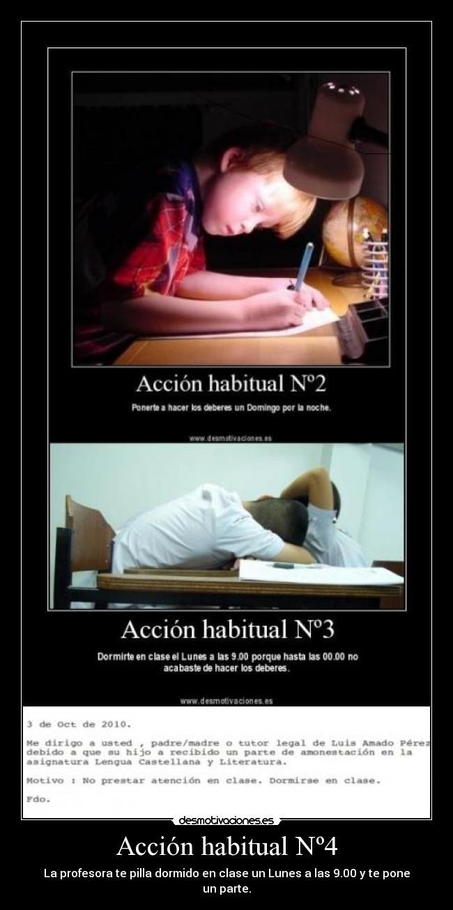 dormido acción