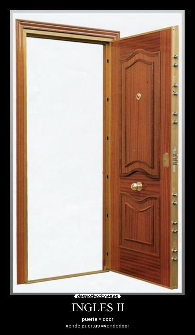 Usuario tonton desmotivaciones for Puerta en ingles