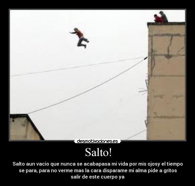 Salto! | Desmotivaciones