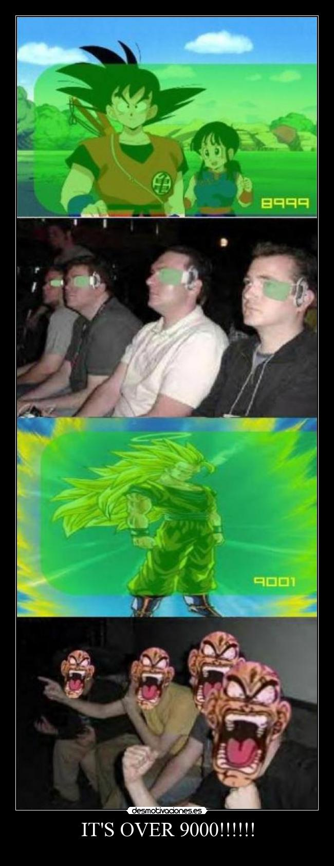 ITS OVER 9000!!!!!! -