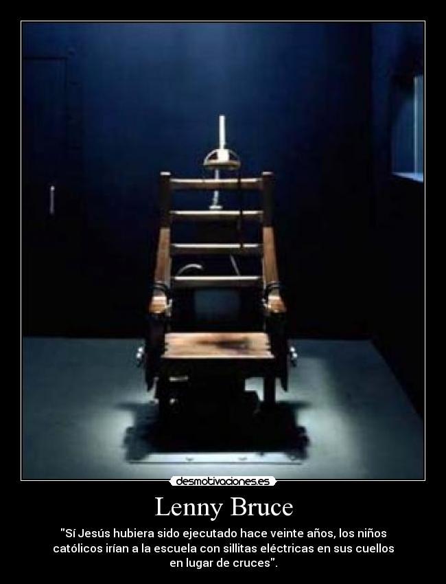 Lenny Bruce Desmotivaciones