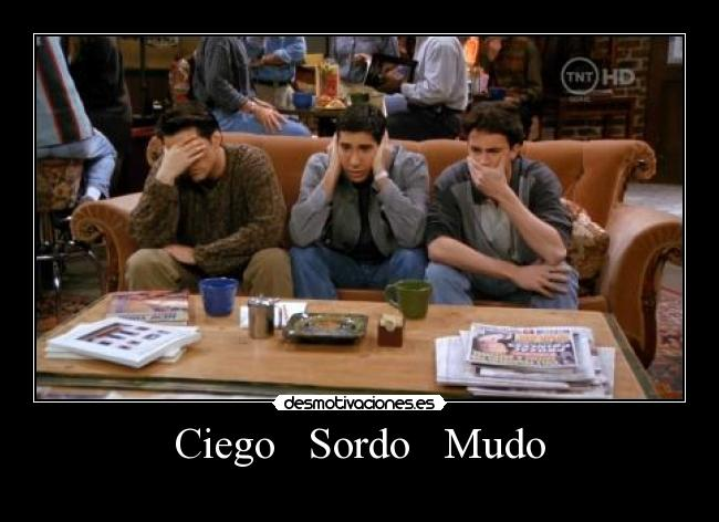 carteles friends chandler joey ross desmotivaciones