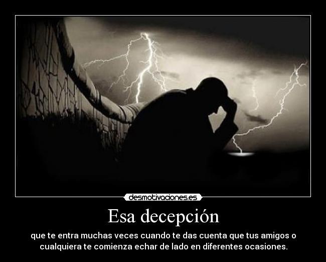 Esa decepción | Desmotivaciones