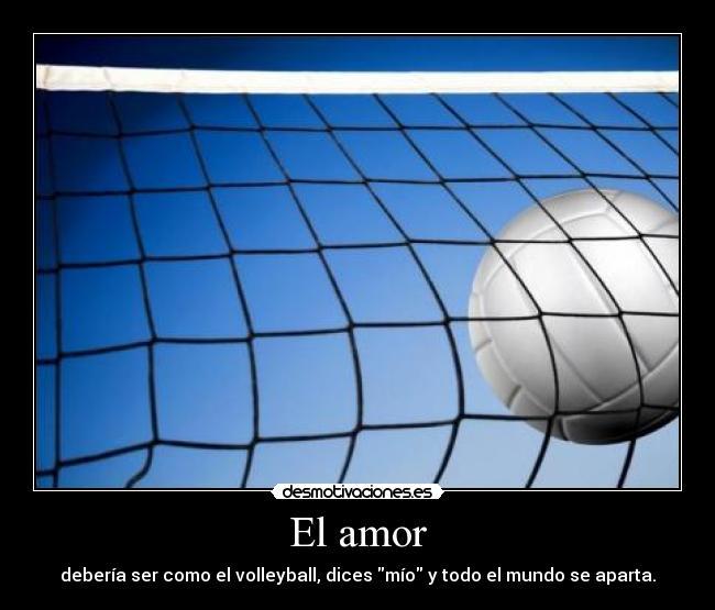 Frases De Amor De Voleibol Imagui