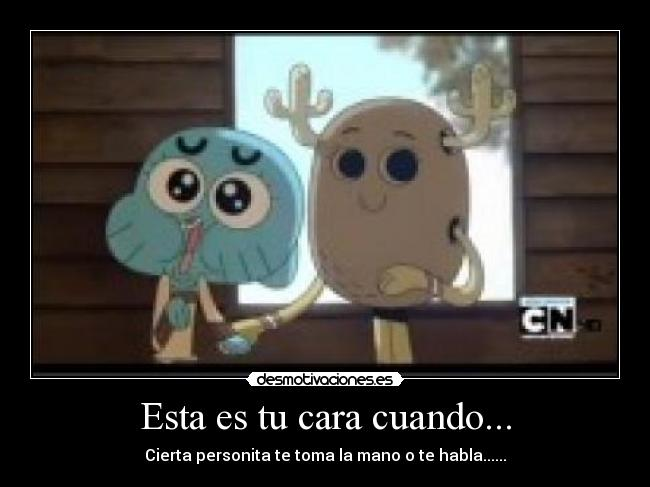 carteles the amazing world gumball desmotivaciones
