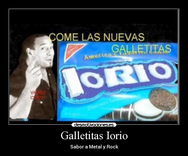 Galletitas Iorio - Sabor a Metal y Rock