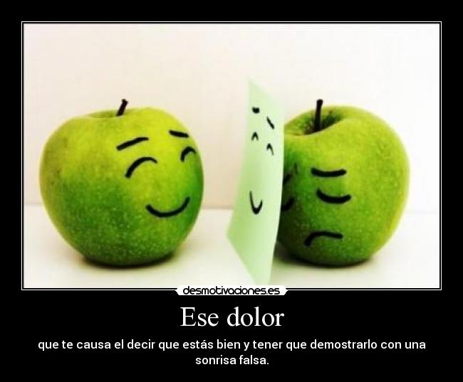 Ese dolor -