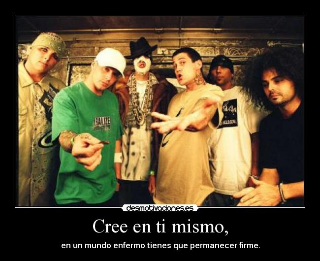 carteles kottonmouth kings insane clown posse desmotivaciones