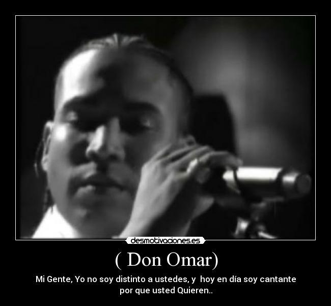 videos de don omar conteo: