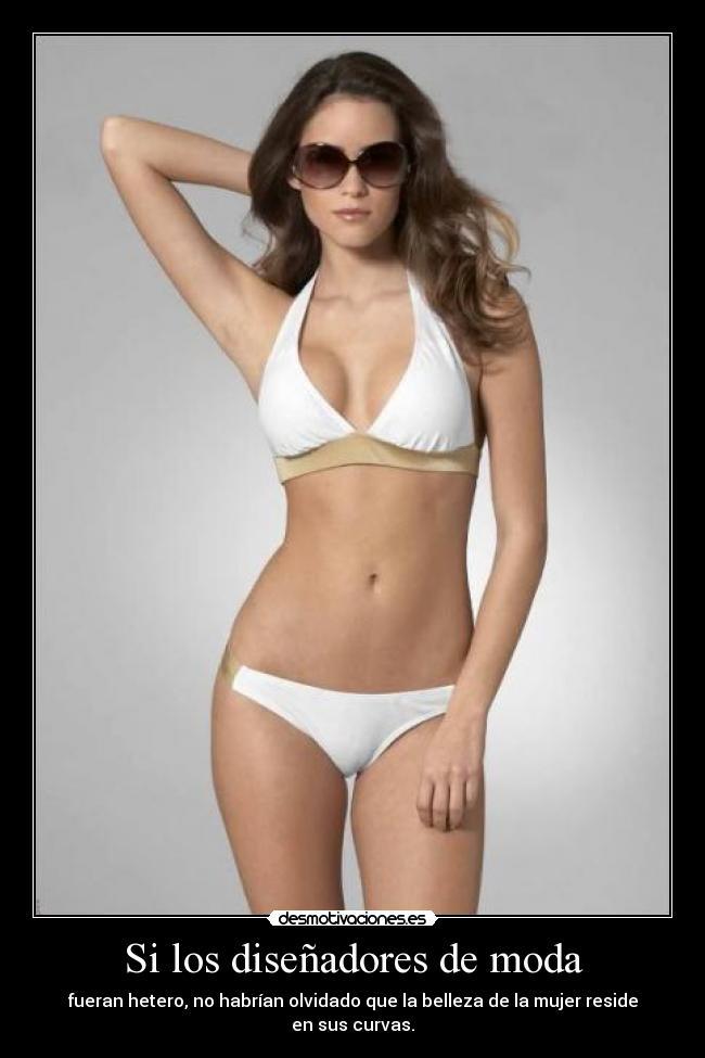 Carteles y Desmotivaciones de curvas heteros mujeres moda anorexia