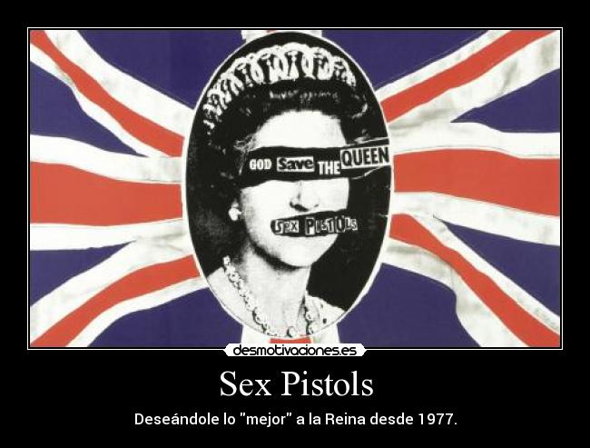 vidéo sex Sex Pistols God save the queen