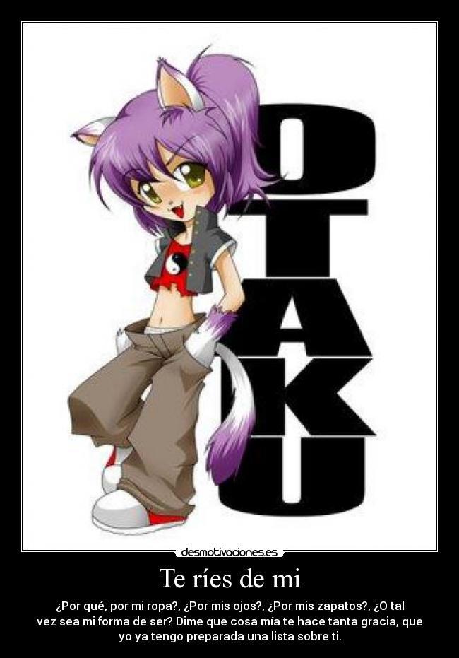 carteles arriba los otakus los amantes manga anime desmotivaciones