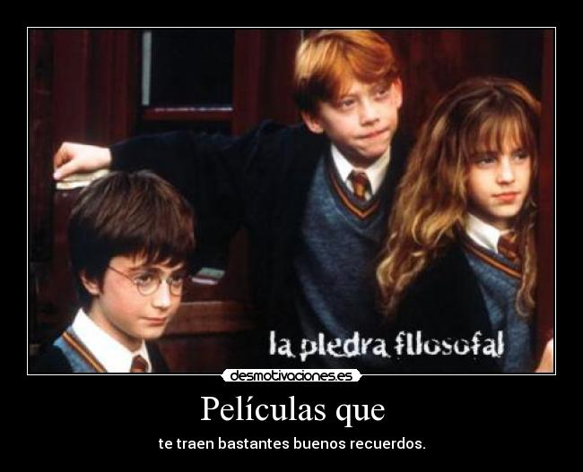 carteles harry potter ron weasley hermion granger desmotivaciones