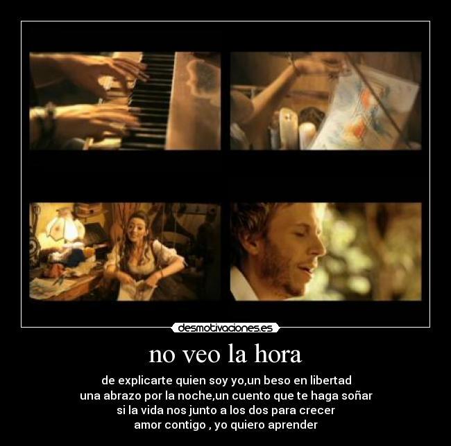 Noel Schajris-No Veo La Hora