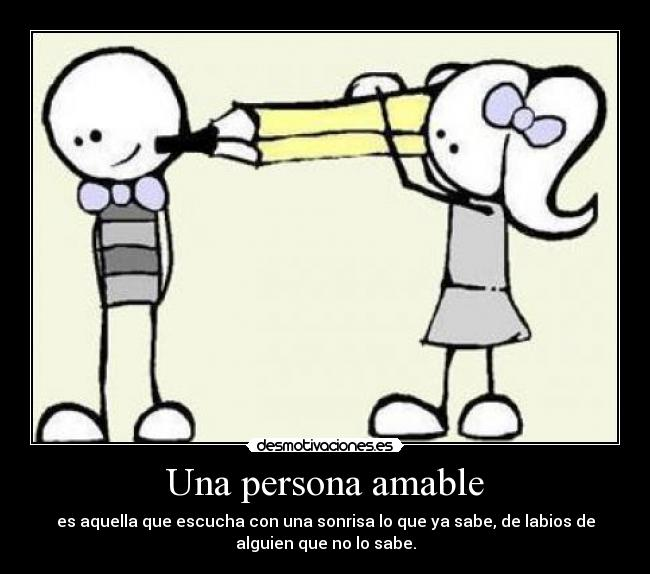 Persona Amable