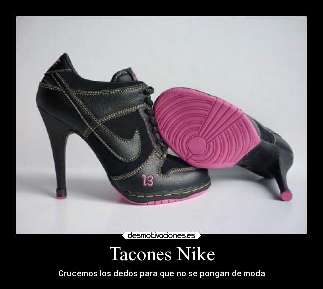 zapatillas tacon nike