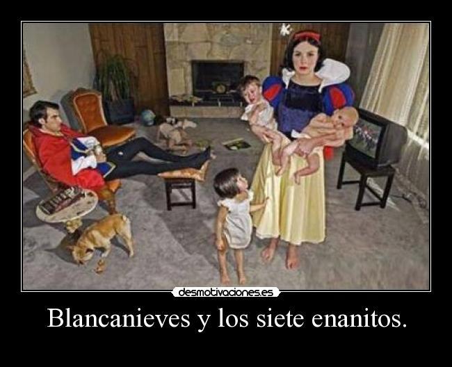 Blancanieves y los siete enanitos desmotivaciones - Casa de blancanieves y los 7 enanitos simba ...