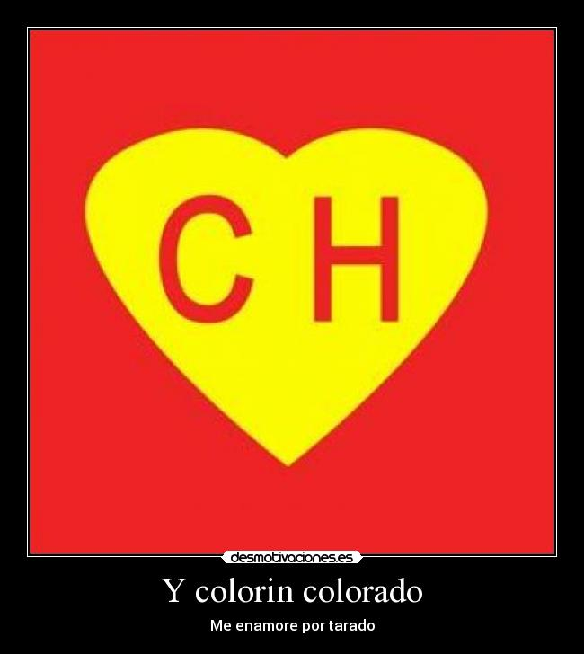 Y colorin colorado -