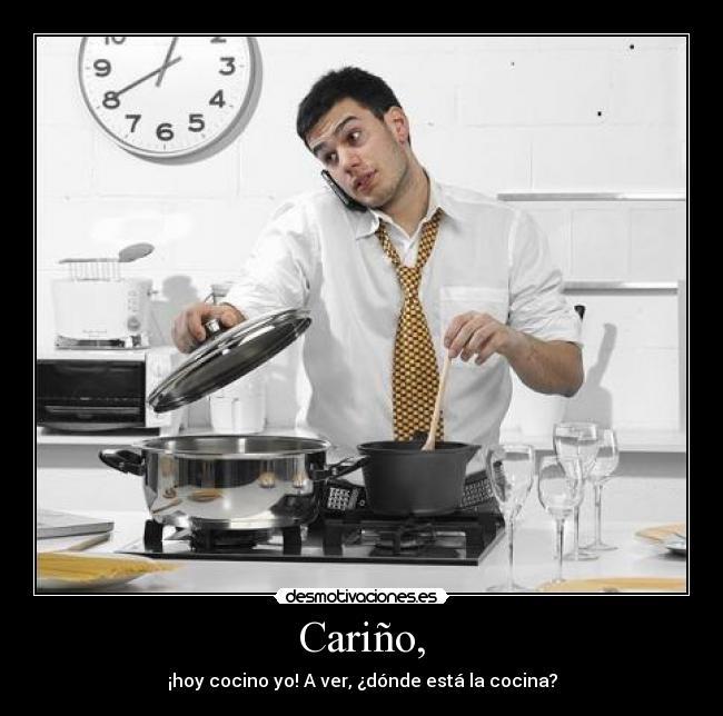 Cari o desmotivaciones - Musica para cocinar ...