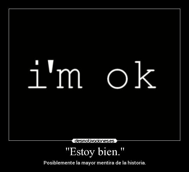 ya estoy bien: