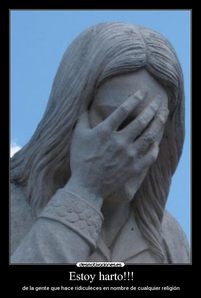Jesus facepalm carteles harto jesus facepalm