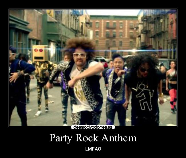 party rock anthem single release date With its lyrics imploring revelers to get up, get down, put your hands up to the sound, lmfao's party rock anthem, featuring lauren bennett and goonrock, is, fittingly, billboard's 2011 song of the summer the hi-energy dance track tops this year's billboard's songs of the summer chart, which ranks the.