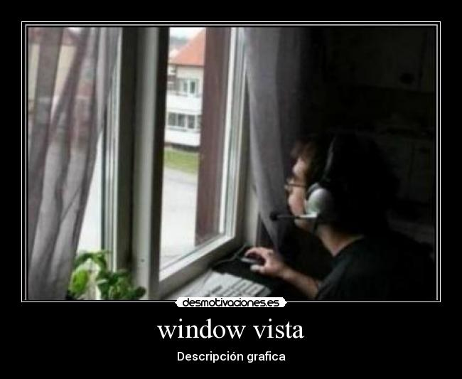window vista - Descripción grafica