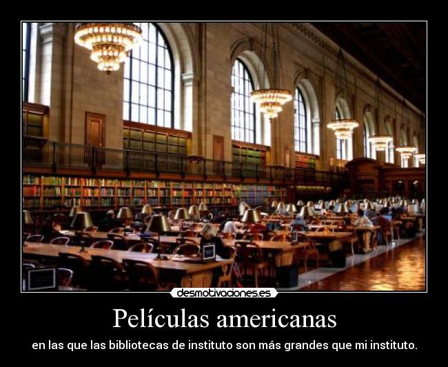 carteles peliculas americanas bibliotecas wii alvar0 desmotivaciones