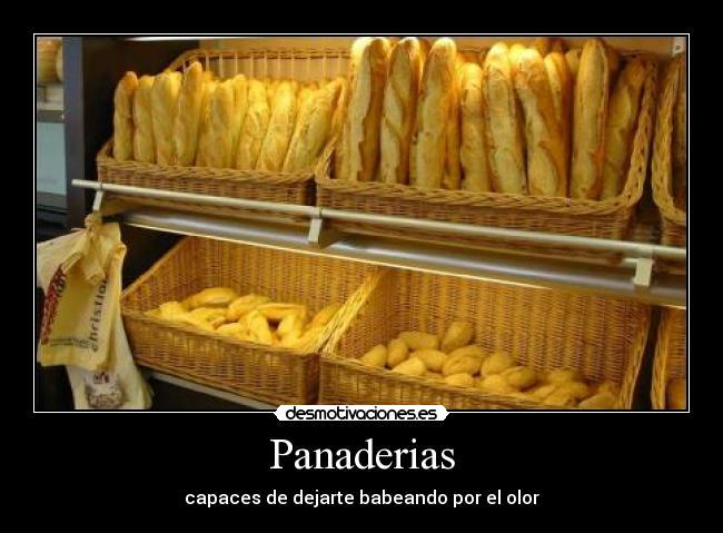 Panaderias Desmotivaciones