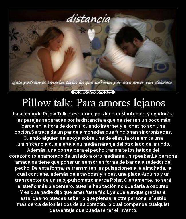 :::Amores lejanos::: Pillowtalk590a100921