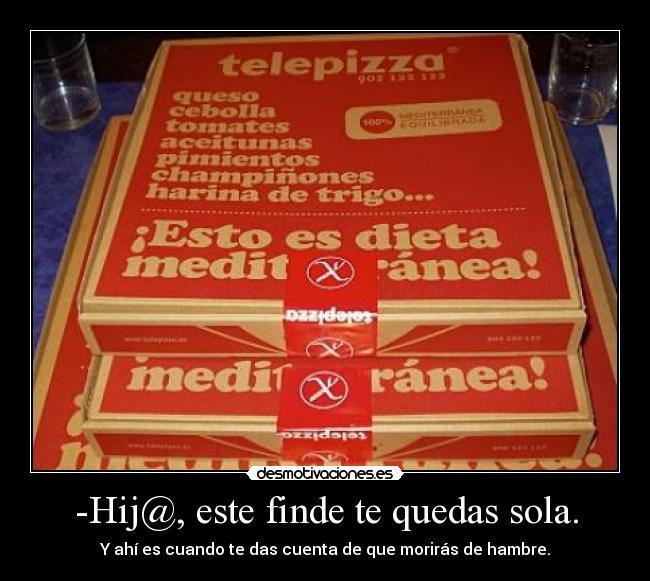 carteles pizza desmotivaciones