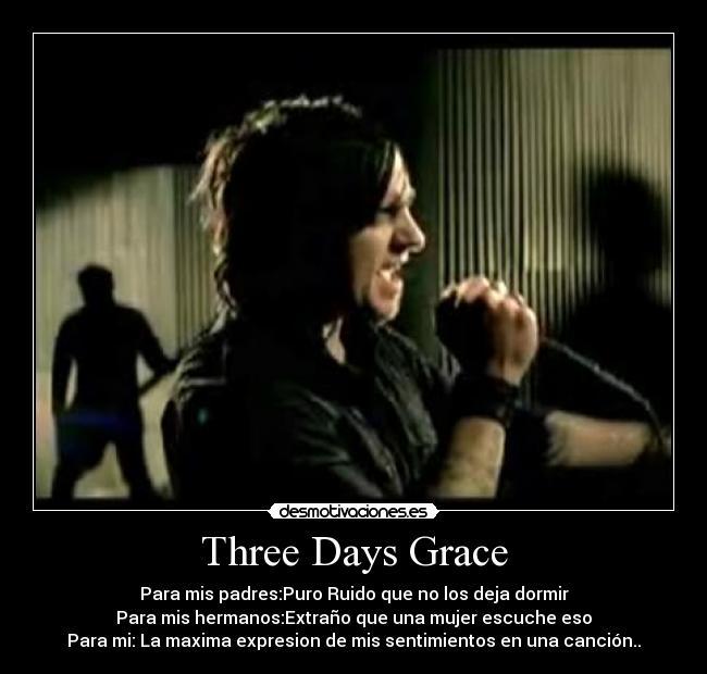 three days grace перевод на русский слушать