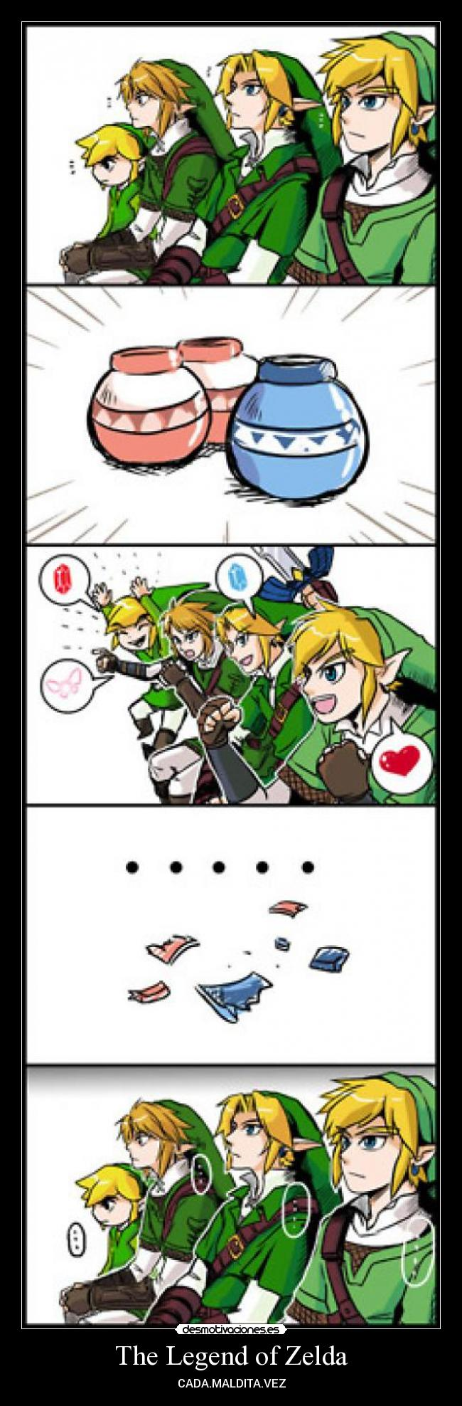 The Legend of Zelda - CADA.MALDITA.VEZ