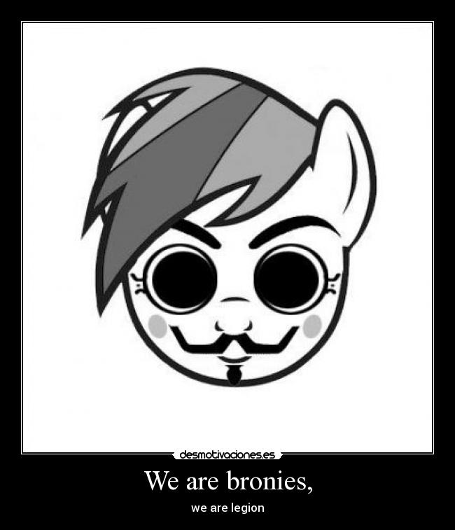 carteles vendetta anonymous little pony friendship magic desmotivaciones