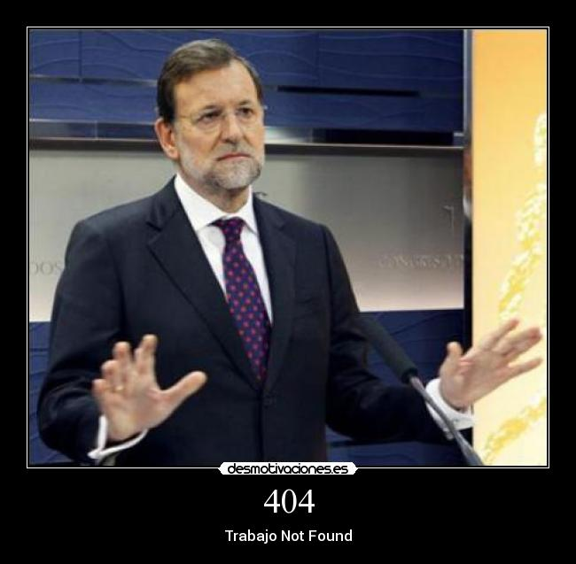404 - Trabajo Not Found