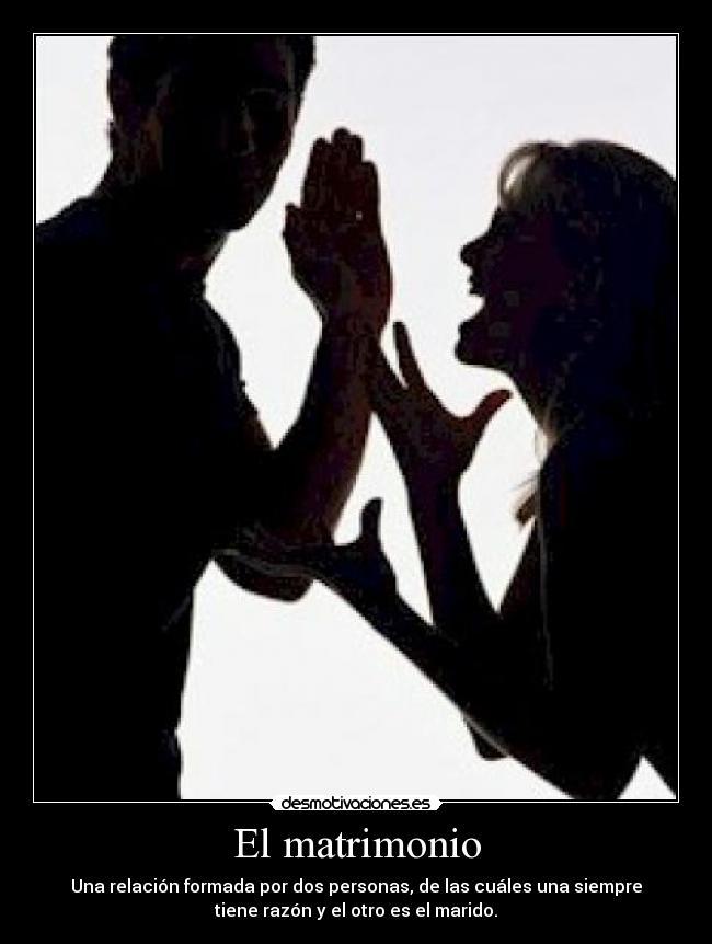 El matrimonio   Desmotivaciones