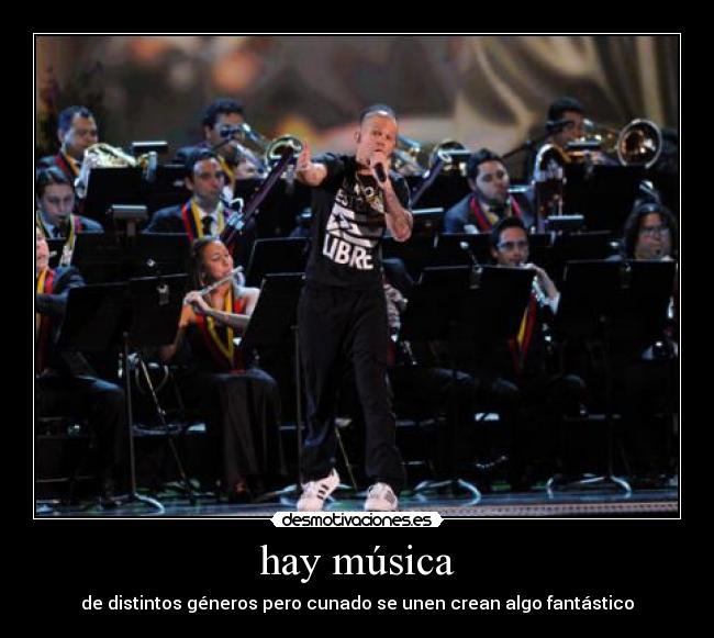 carteles musica dedicatoria calle orquesta sinfonica simon bolivar venezuela desmotivaciones