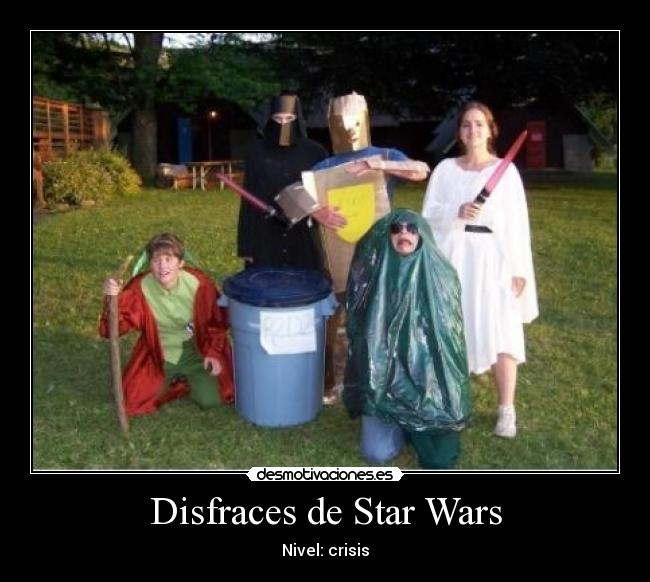 Disfraces de Star Wars - Nivel: crisis