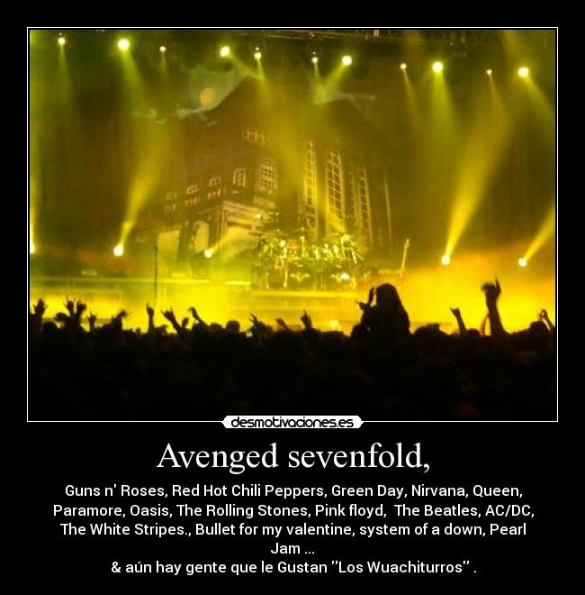 Avenged sevenfold, -