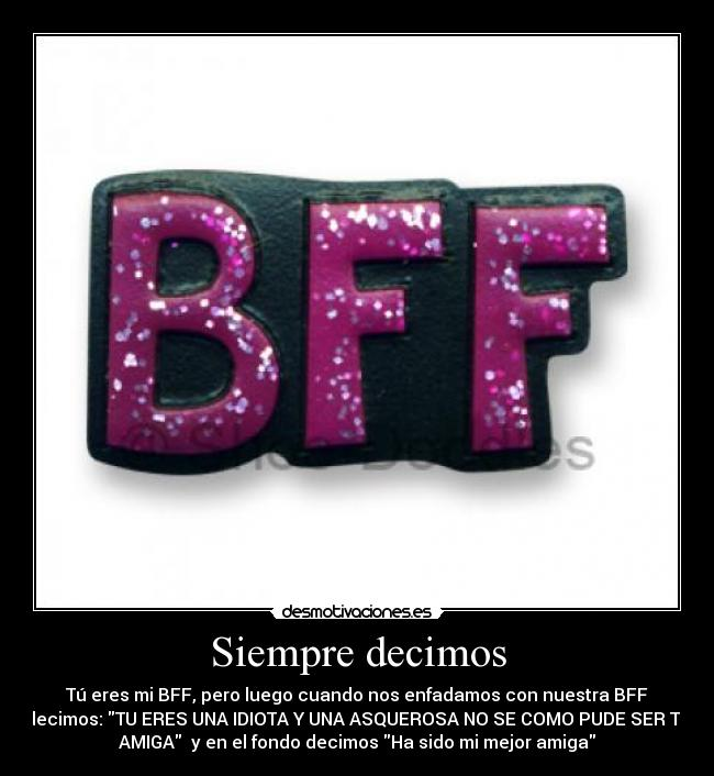 bff por siempre
