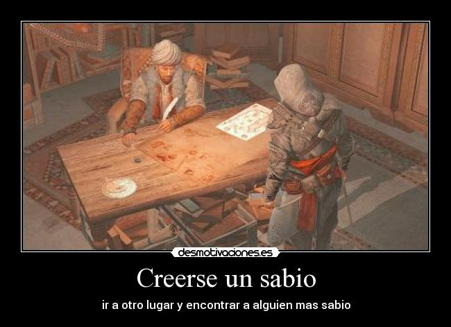 carteles acr ezio assassin creed piri reis desmotivaciones