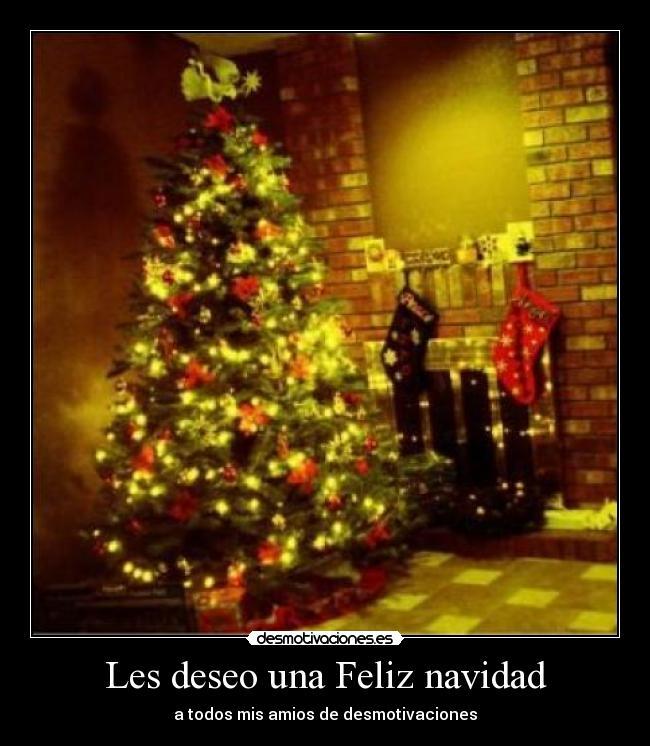 Les deseo una feliz navidad desmotivaciones - Deseos de feliz navidad ...