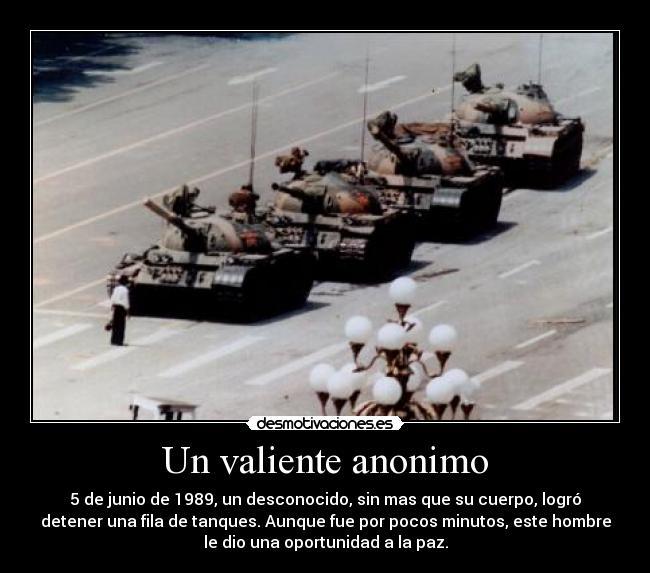 carteles valiente anonimo desmotivaciones