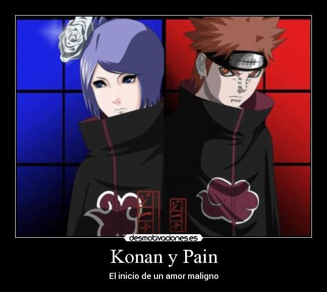 Naruto and Konan