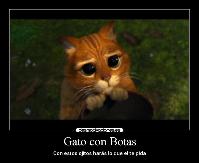 Gato Con Botas Con Frases De Amor Imagui