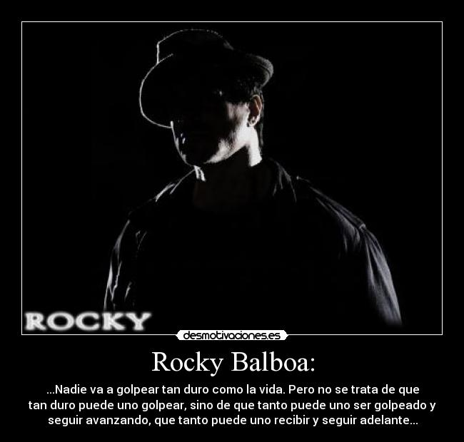 Frase De Rocky Balboa Imagui